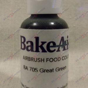 Bake-Air Great Green Bakery Artisan Color by Badger Airbrush 0.7 Oz BA-705