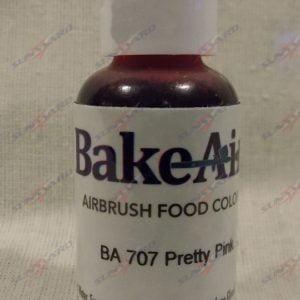 Bake-Air Pretty Pink Bakery Artisan Color by Badger Airbrush 0.7 Oz BA-707