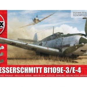 Airfix Messerschmitt Bf109E-3 E-4 1:48 Scale A05120B