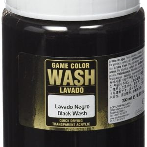 Vallejo Black Wash 73301 Dipping Formula 200ml