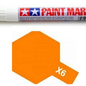 Tamiya Gloss Marker Orange X-6 X6 89006