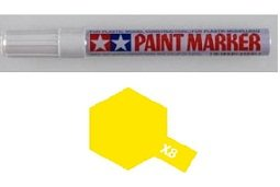 Tamiya Gloss Marker Lemon Yellow X-8 X8 89008