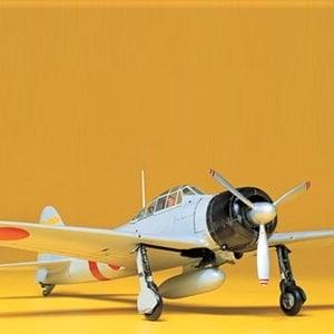 Tamiya A6M2 Type 21 Zero Fighter Kit Zeke CO116 1-48 Scale 61016