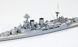 Tamiya British Cruiser Hood & E Class Destroyer 1-700 Scale 31806