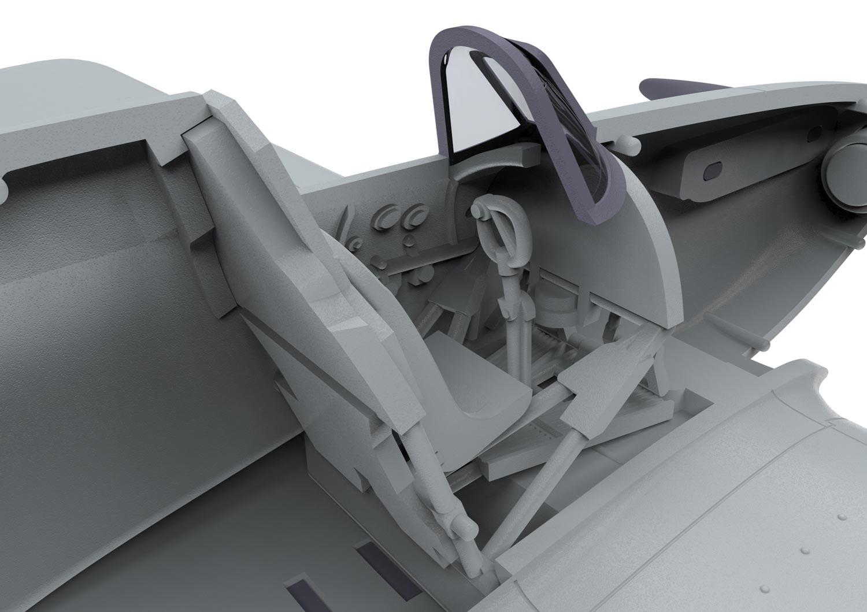 Airfix Hawker Hurricane Mki 1 72 Scale A01010