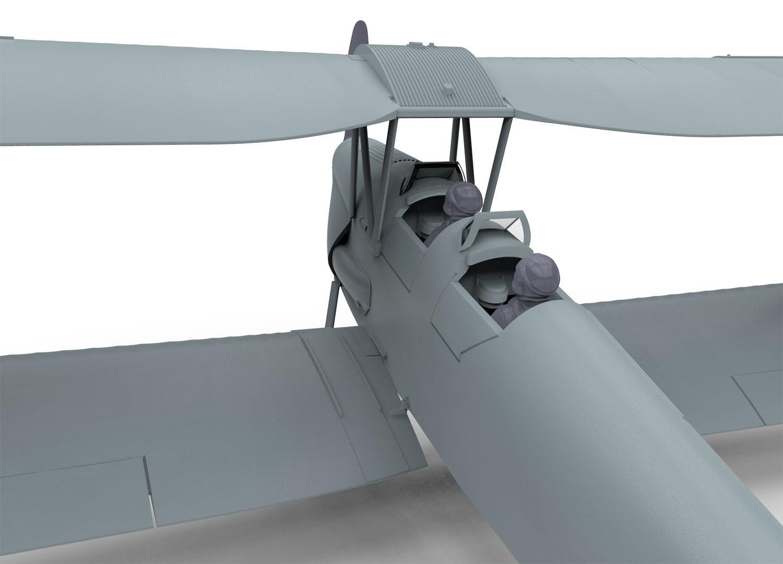 Detail Airfix De Havilland DH.82a Tiger Moth 1:72 Scale A01025