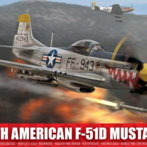 Airfix North American F-51D Mustang 1:72 Scale A02047