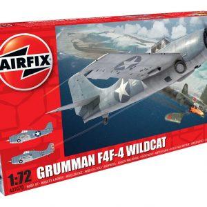Airfix Grumman F4F-4 Wildcat 1:72 Scale A02070
