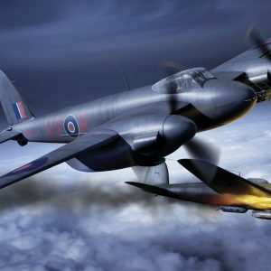 Artwork Airfix De Havilland Mosquito MkII VI XVIII 1:72 Scale A03019