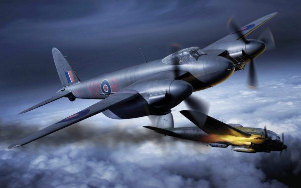 Artwork Airfix De Havilland Mosquito MkII VI XVIII 1:72 Scale A03019