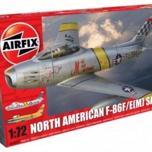 Airfix North American F-86F E-M Sabre 1:72 Scale A03082A