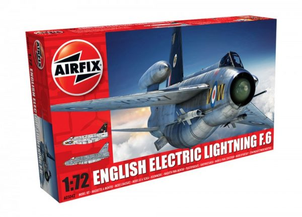 Airfix English Electric Lightning F6 1:72 Scale A05042