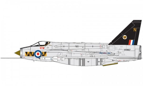 Markings Airfix English Electric Lightning F6 1:72 Scale A05042
