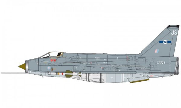 Markings B Airfix English Electric Lightning F6 1:72 Scale A05042