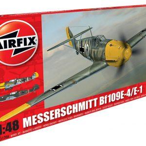 Airfix Messerschmitt Bf109E-4 E-1 1:48 Scale A05120
