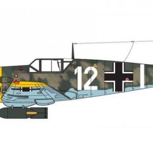 Marking Airfix Messerschmitt Bf109E-4 E-1 1:48 Scale A05120