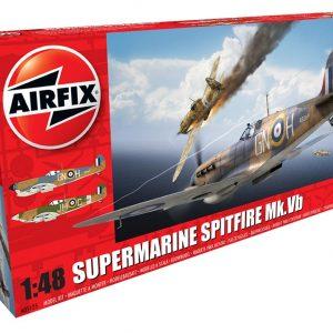 Airfix Supermarine Spitfire MkVb 1:48 Scale A05125