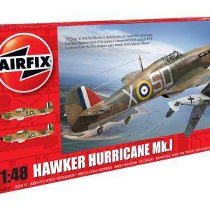 Airfix Hawker Hurricane Mk1 1:48 Scale A05127