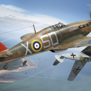 Artwork Airfix Hawker Hurricane Mk1 1:48 Scale A05127