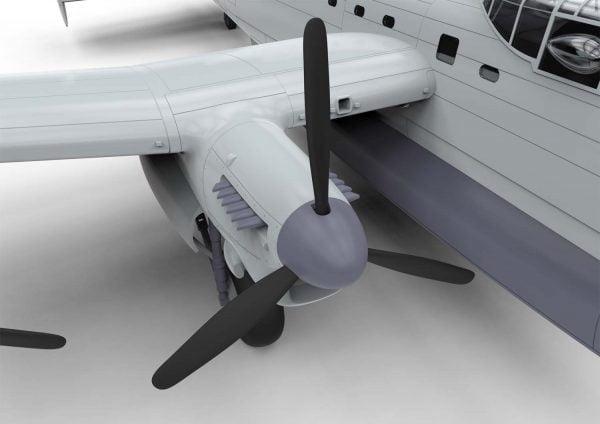 Detail Engine Airfix Avro Lancaster BI F.E. BIII 1:72 Scale A08013