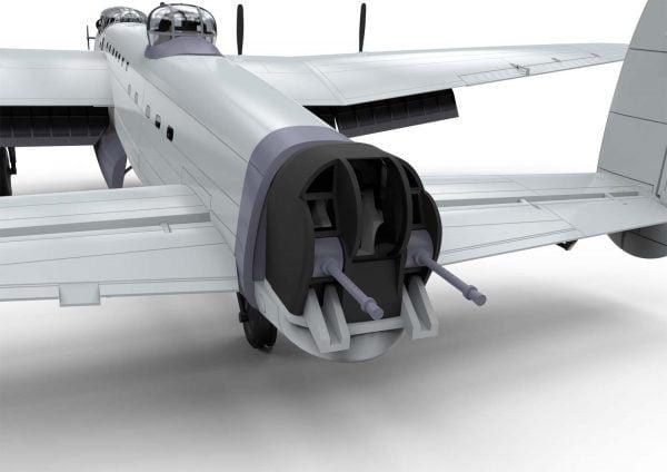 Detail Rear Airfix Avro Lancaster BI F.E. BIII 1:72 Scale A08013