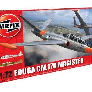 Airfix Fouga CM.170 Magister 1:72 A03050