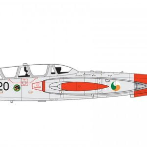 Completed Airfix Fouga CM.170 Magister 1:72 A03050
