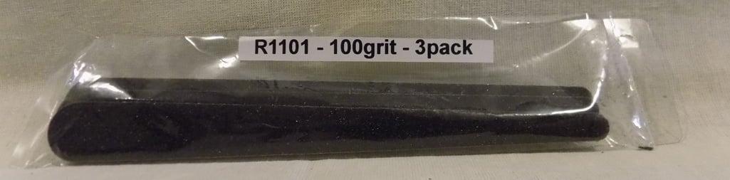 Alpha Abrasives Regular Tapered Files 100 Grit ALB R1101