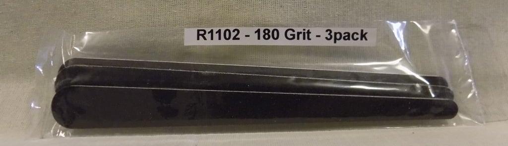 Alpha Abrasives Regular Tapered Files 180 Grit ALB R1102