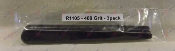 Alpha Abrasives Regular Tapered Files 400 Grit ALB R1105