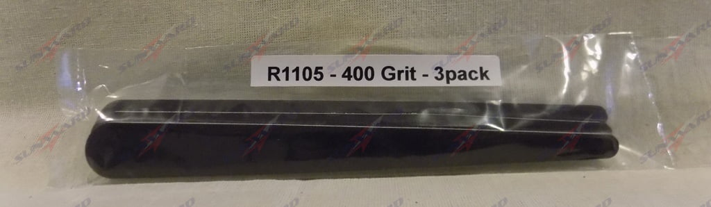 Alpha Abrasives Regular Tapered Files 400 Grit ALB R1105