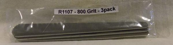 Alpha Abrasives Regular Tapered Files 800 Grit ALB R1107