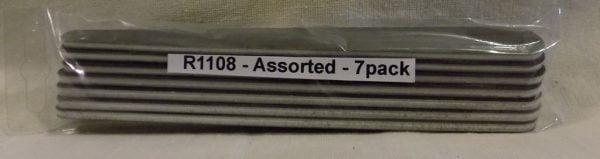 Alpha Abrasives Regular Tapered Files Assorted Grit ALB R1108