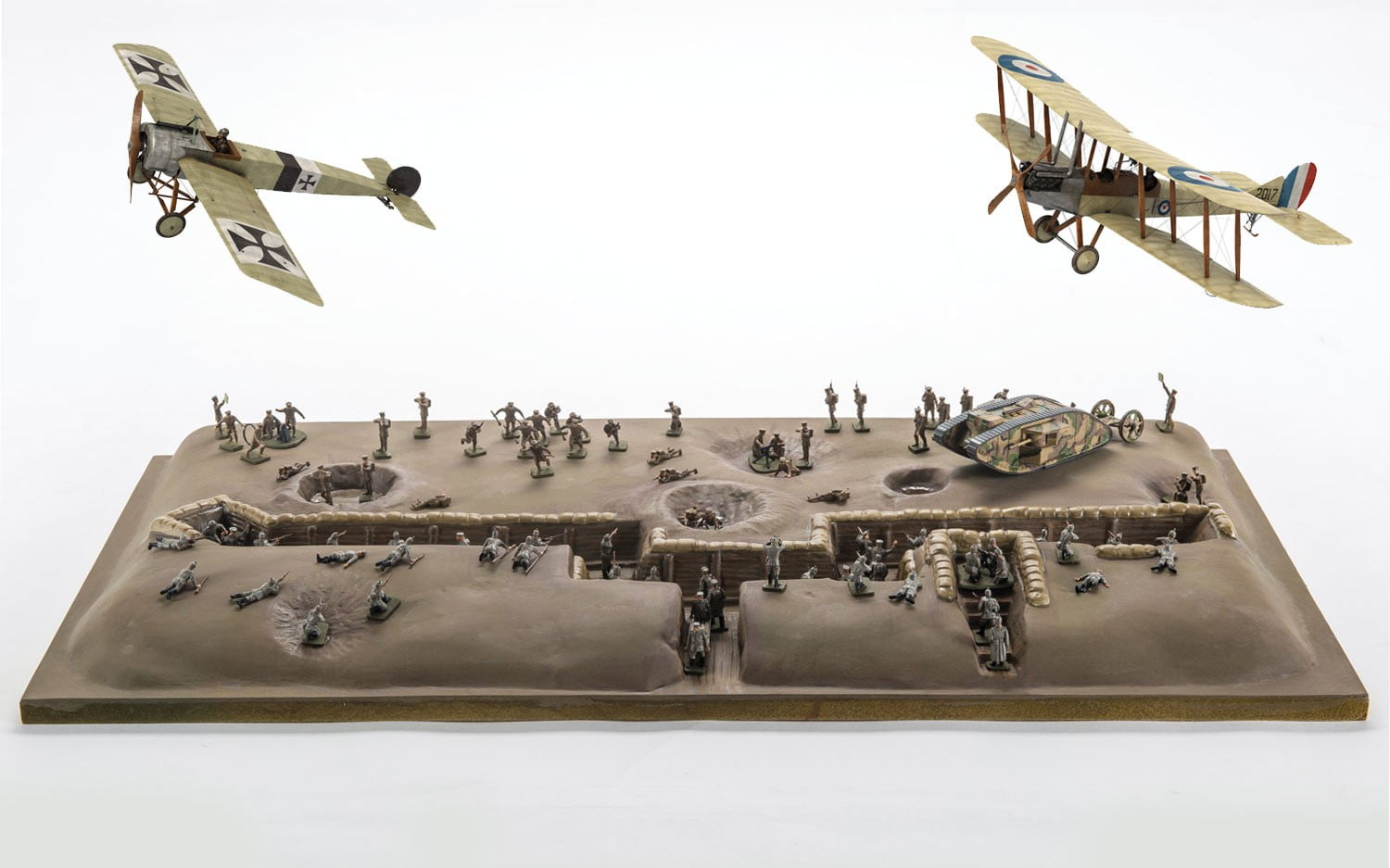 Airfix Battle Of The Somme Centenary Gift Set 1 72 Scale