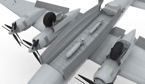 Detail Airfix Avro Shackleton MR2 1:72 Scale A11004