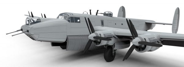 Front View Airfix Avro Shackleton MR2 1:72 Scale A11004