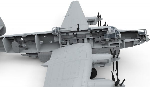 Interior Airfix Avro Shackleton MR2 1:72 Scale A11004