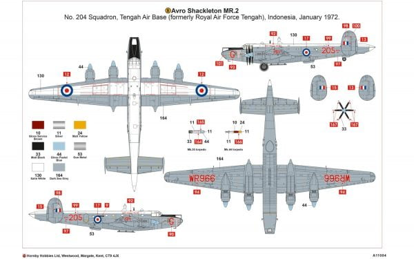 Layout 2 Airfix Avro Shackleton MR2 1:72 Scale A11004