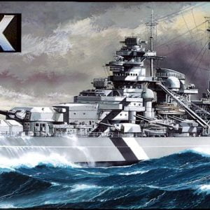 Tamiya German Battleship Bismarck 350 Scale 78013