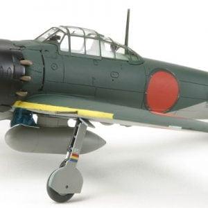 Tamiya Mitsubishi A6M5 ZEKE - Zero Fighter 72 Scale 60779