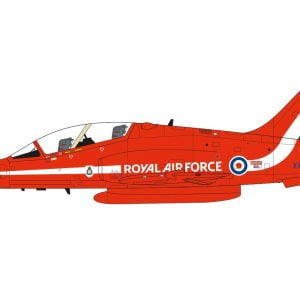 Completed Airfix RAF Red Arrows Hawk 1:72 Scale A02005C