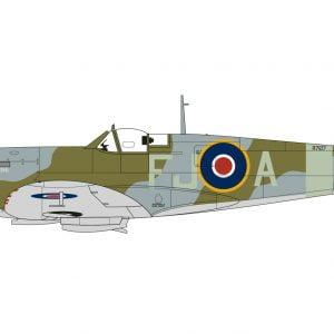 Layout 3 Airfix Supermarine Spitfire Mk.VA 1:72 Scale A02102