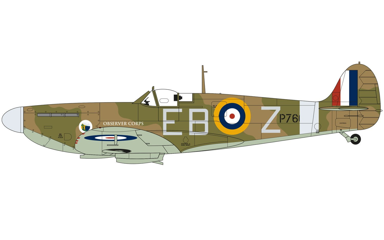Airfix Supermarine Spitfire Mk Va 1 72 Scale A02102