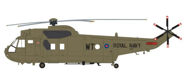 Layout 2 Airfix Westland Sea King HC.4 1:72 Scale A04056