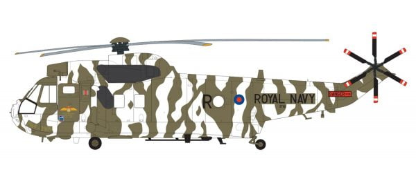 Layout Airfix Westland Sea King HC.4 1:72 Scale A04056