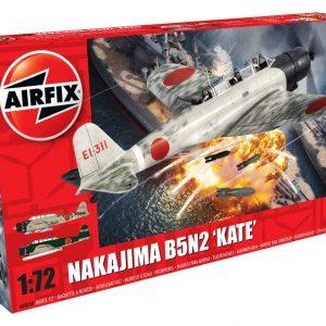 Airfix Nakajima B5N2 Kate 1:72 Scale A04058