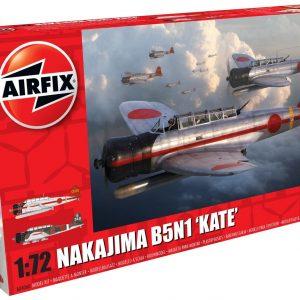 Airfix Nakajima B5N1 Kate 1:72 Scale A04060