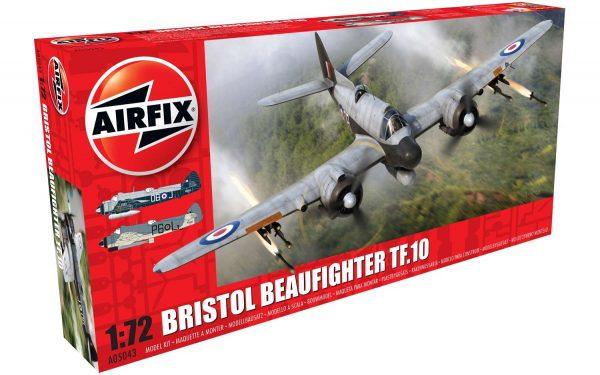 Airfix Bristol Beaufighter Mk.X Late 1:72 Scale A05043