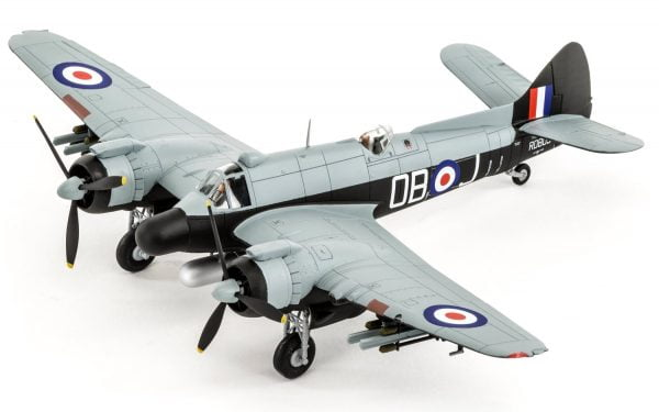 Completed 2 Airfix Bristol Beaufighter Mk.X Late 1:72 Scale A05043