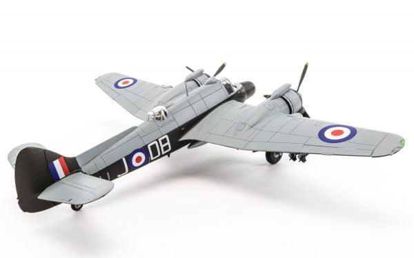 Completed 3 Airfix Bristol Beaufighter Mk.X Late 1:72 Scale A05043
